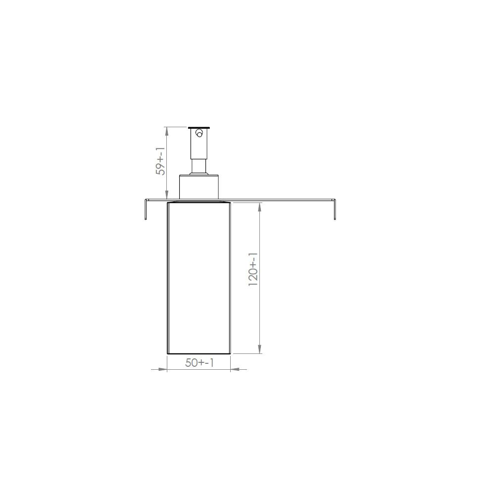 Porta-Detergente 150mm Debacco