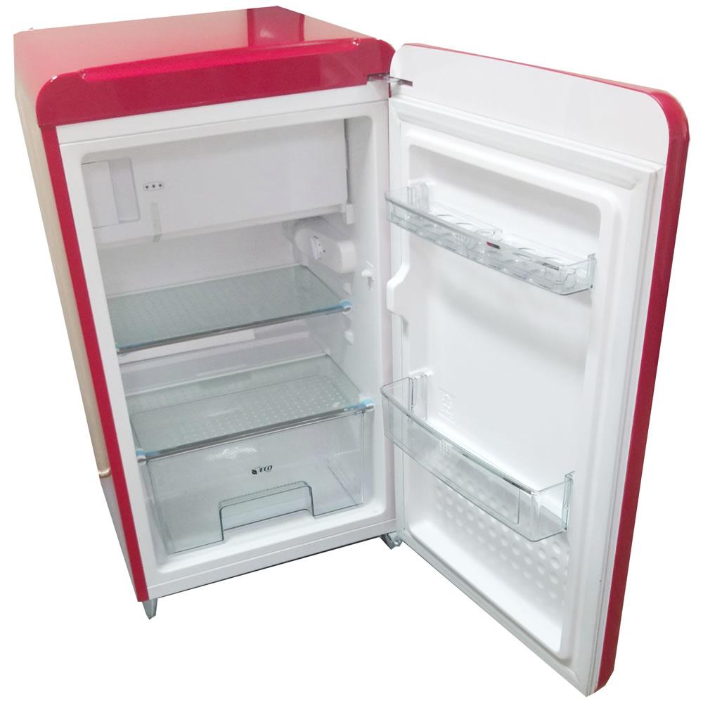 Refrigerador Mini Retro Customizado Jack Daniel's Vermelho CrissAir