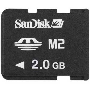 Memory Stick Micro M2 Sandisk 2GB