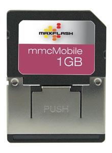 Cartao de Memoria MMC Mobile 1GB Maxflash