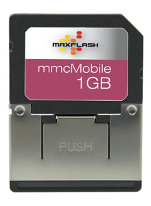 Cartao de Memoria MMC Mobile 1GB Maxflash