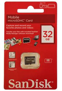 Cartão de Memória Micro Sdhc 32GB Sandisk