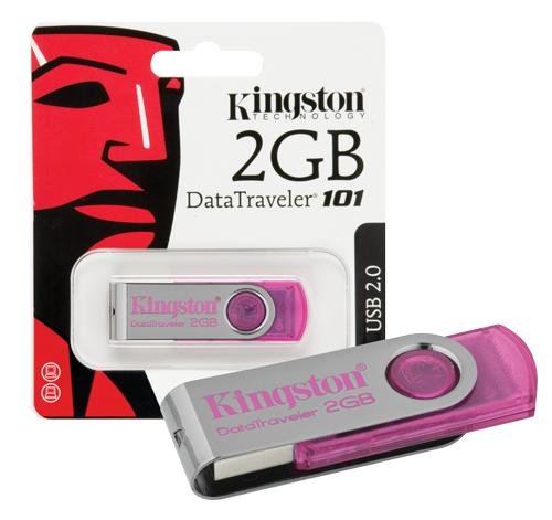 Pendrive 2GB DataTraveler 101 Kingston