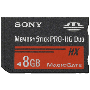 Memory Stick PRO-HG Duo HX Sony 8GB 30MB/s