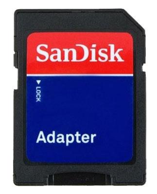 Cartão Memória Micro SDHC 8GB Sandisk Classe 4 na embalagem
