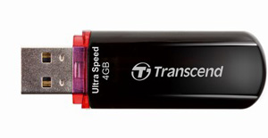 Pen Drive Transcend JetFlash 600 Elite 4GB