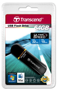 Pen Drive Transcend JetFlash 600 Elite 64GB