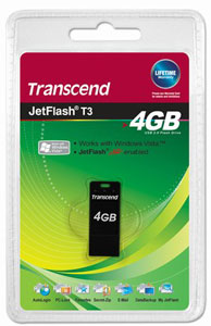 Pen Drive Transcend 4GB JetFlash T3