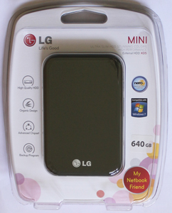 HD Externo de Bolso LG 640GB Mini