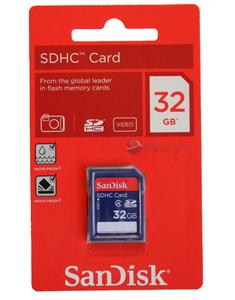 Cartão de Memória Sdhc 32GB Sandisk classe 4