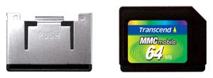 Cartão de Memória MMC Mobile Transcend 64MB