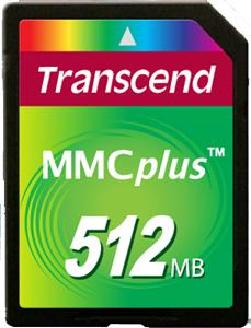 Cartão de Memória MMC Plus Transcend 512MB