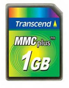 Cartão de Memória MMC Plus Transcend 1GB