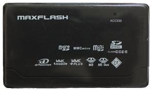 Leitor e Gravador de Cartão de Memória Maxflash USB 2.0
