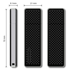Pen Drive Transcend 8GB JetFlash 200 Com Senha