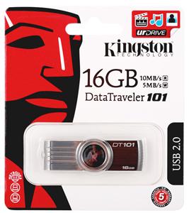 Pen drive Kingston 16GB DataTraveler 101 Generation 2