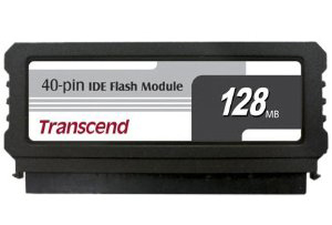 IDE Flash Module DOM 40 Pinos 128MB Transcend