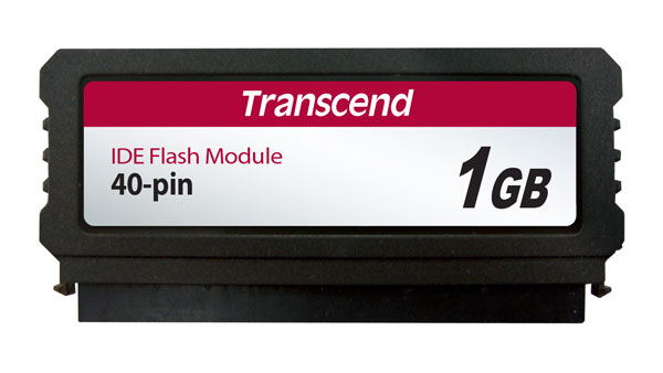 IDE Flash Module DOM 40 Pinos 1GB Transcend