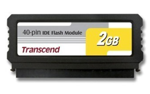 IDE Flash Module DOM 40 Pinos 2GB Transcend