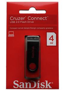 Pen Drive Sandisk 4GB Cruzer Connect