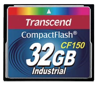 Cartão de memória Compact Flash CF Transcend 32GB 150X Industrial