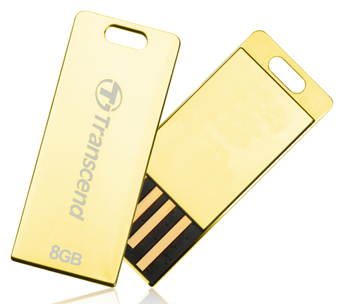 Pen drive Transcend 8GB Jetflash T3G Gold