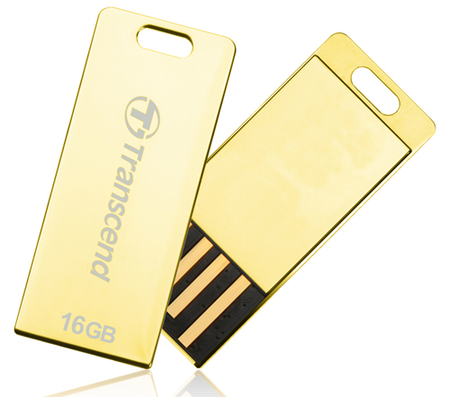 Pen drive Transcend 16GB Jetflash T3G Gold