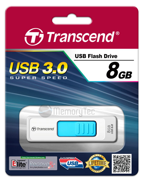 Pen Drive Transcend 8GB JetFlash 770 USB 3.0