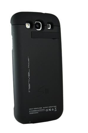 Bateria Externa Recarregável Hanvel Power para Galaxy S3 - Preta