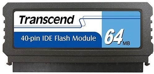 IDE Flash Module DOM 40 Pinos 64MB Transcend