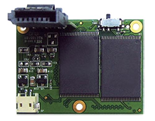 Módulo Flash SATA Transcend 7 Pinos 512MB Horizontal