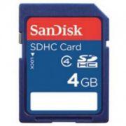 Cartão de Memória Sdhc 4GB Sandisk Classe 4