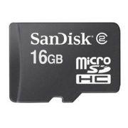 Cartão de Memória Micro SDHC 16GB Sandisk com Adaptador SD