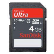 Cartão de Memória Sdhc 4GB Sandisk Ultra Classe 6