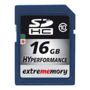 Cartao Memoria Sdhc 16GB Class 10 Extrememory HyPerformance
