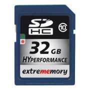 Cartao Memoria Sdhc 32GB Class 10 Extrememory HyPerformance