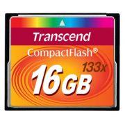 Cartão Memória Compact Flash CF 16GB Transcend 133x