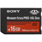 Memory Stick PRO-HG Duo HX  16GB Sony  30MB/s