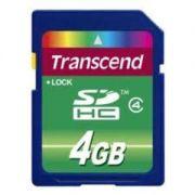 Cartão de Memória SDHC 4GB Transcend