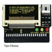 Adaptador Compact Flash CF para IDE 40-pin Tipo Fêmea