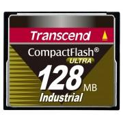 Cartao de memoria CompactFlash Transcend 128MB 100x Tipo Industrial