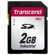 Cartão de Memória SD Transcend 2GB Industrial TS2GSD100I