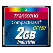 Cartão de memória Compact Flash CF Transcend 2GB 150X Industrial