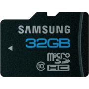 Cartão de Memória MicroSDHC 32GB Samsung Classe 10