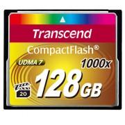 Cartão de Memória Compact Flash CF Transcend 128GB 1000x