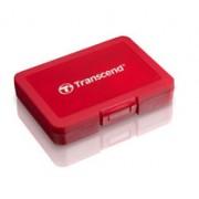 Case para cartão SDHC e Micro SDHC Vermelho