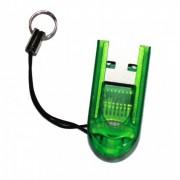 Leitor USB para cartão MicroSDHC, MicroSD