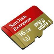 Cartão de memória MicroSDHC SanDisk 16GB Extreme Classe 10 UHS-I U3 90MB/s