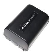 Bateria NP-FV50 1050mAh para câmera digital e filmadora Sony HDR-XR160E, HDR-PJ50VE, DCR-SR77E, DCR-HC85E