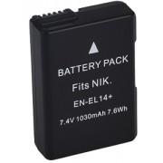 Bateria EN-EL14 para câmera digital e filmadora Nikon SLR P7000, D3100, D3200, D5100, P7100